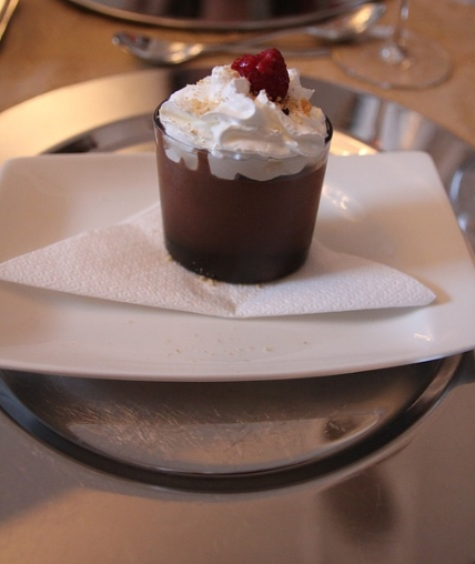 chocolate mint pudding