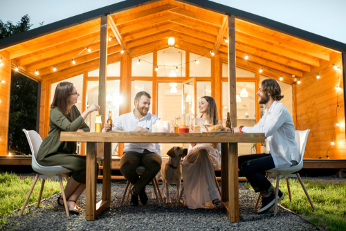 Family Summer Meals On the Patio